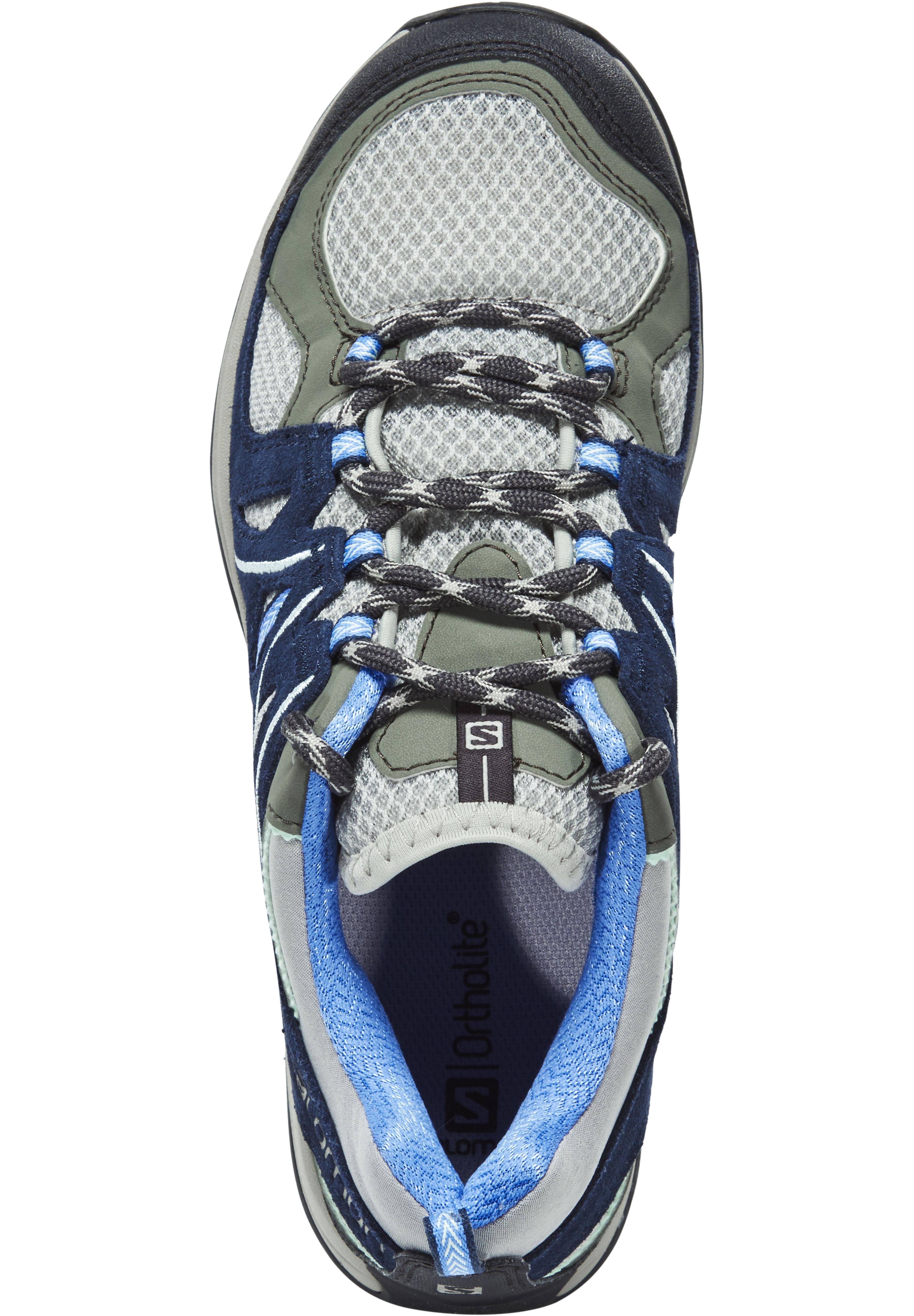 507b2d829ae Salomon Ellipse 2 Aero - Chaussures Femme - gris bleu sur CAMPZ !
